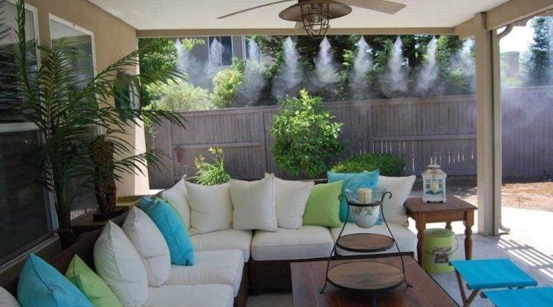 Bahçe Soğutma ve Serinletme Sistemi