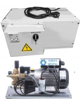 yüksek basınç sisleme pompası