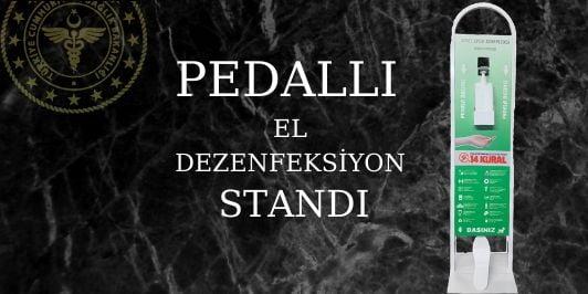 PEDALLI EL DEZENFEKTE STANDI