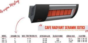restoran ve cafe isitma sistemleri dogalgazli seramik isitici